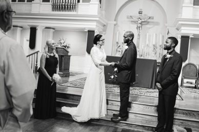 Ceremony - Kimberly and Dustin's Wedding - Cary NC