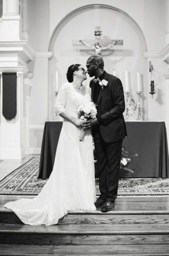 Ceremony - Kimberly and Dustin's Wedding - Cary NC